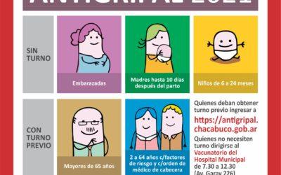 Campaña de vacunación antigripal: cómo inscribirse