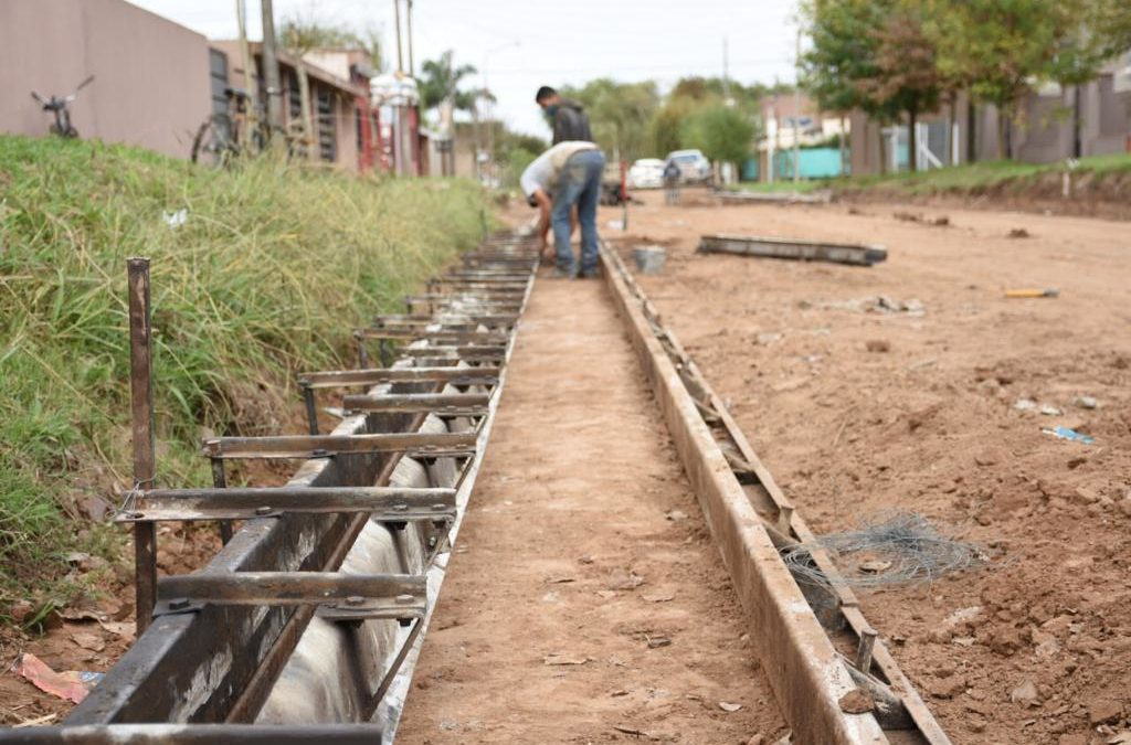 Continúa el plan municipal de bacheo urbano