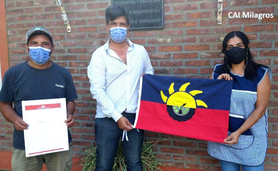 Los CAI recibieron sus banderas de Chacabuco