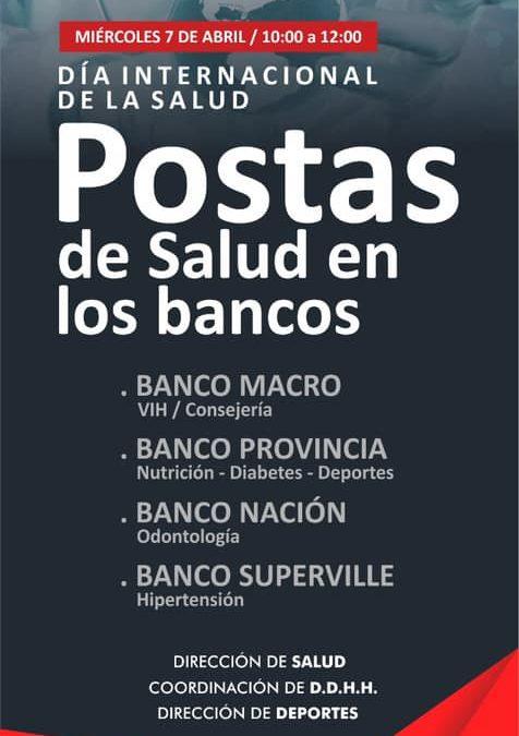 Postas de Salud en los Bancos