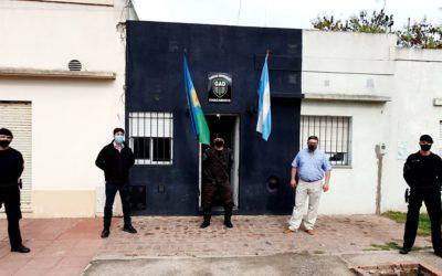 El Grupo de Apoyo Departamental Policial tiene un nuevo Jefe