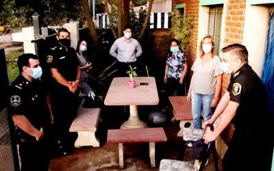 Seguridad: Reunión en barrio Los Pioneros