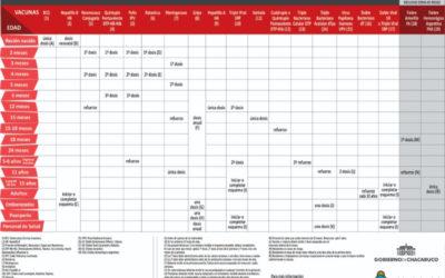 La importancia de mantener el Calendario Nacional de Vacunación