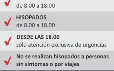 Covid-19: atención del Consultorio de Pacientes Febriles