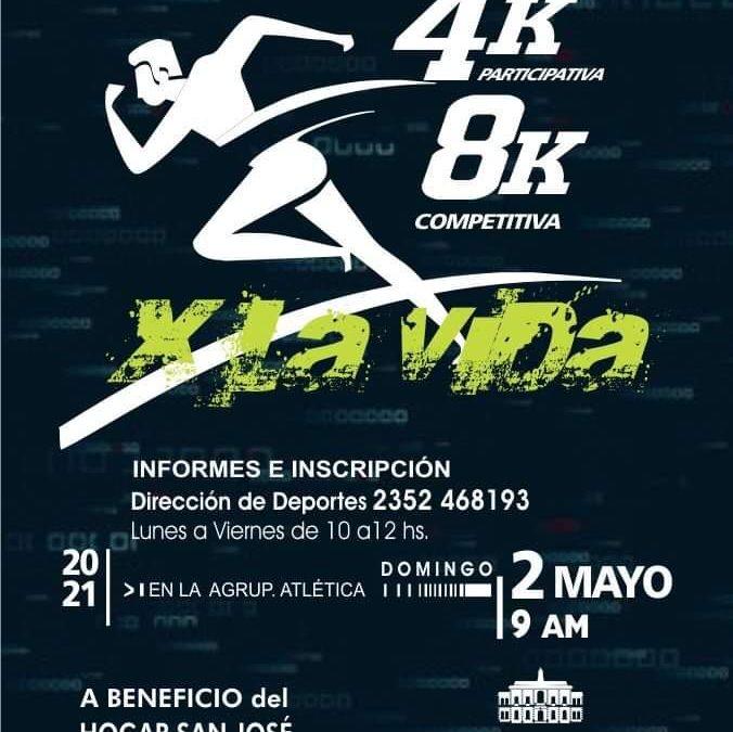 X la vida: maratón a beneficio del Hogar San José