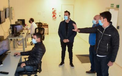 El Intendente Municipal visitó el COM y destacó el trabajo del personal