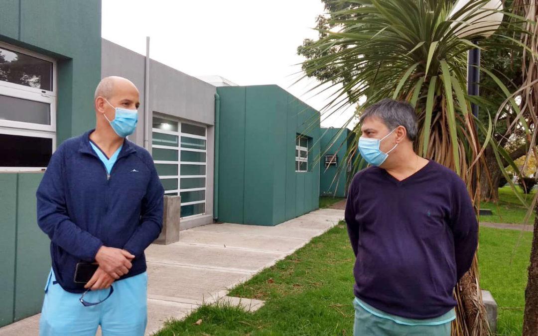 Covid: Se traslada Obstetricia y Ginecología al Sanatorio