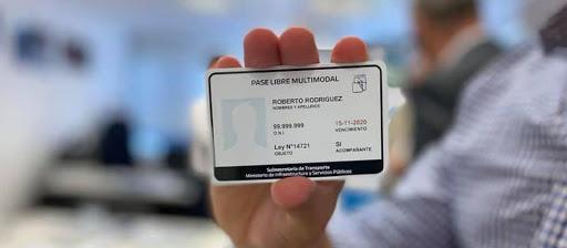 Credencial de Pase Libre Multimodal