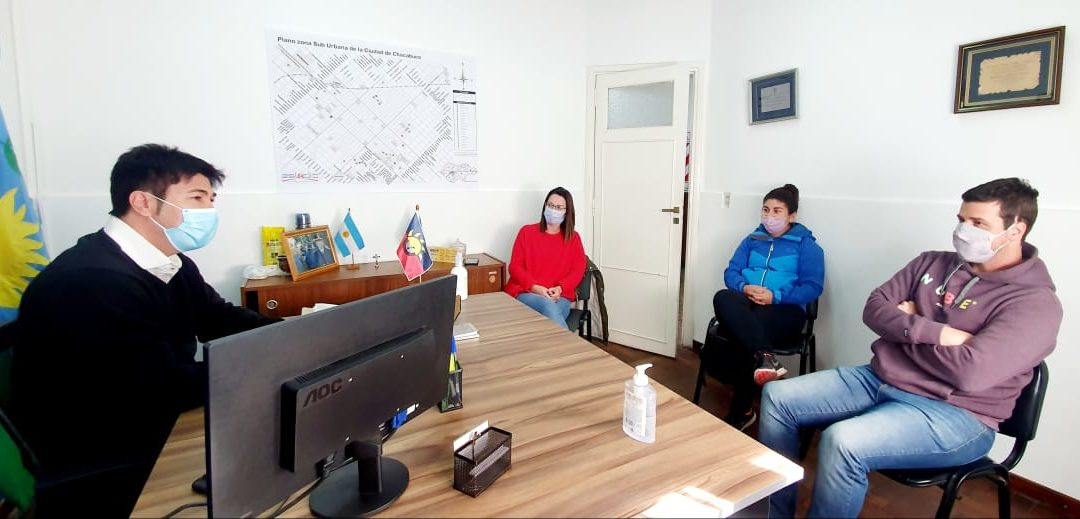 Seguridad agradeció el trabajo de Red Solidaria