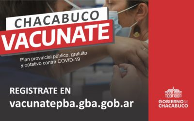 Covid-19: Campaña Chacabuco vacunate