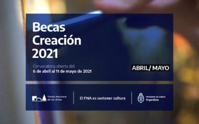 Cultura: Becas de Creación 2021