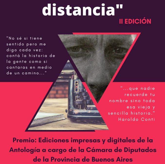 Cultura: Segunda Edición del Concurso Literario Encuentro en la Distancia