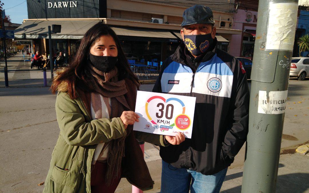 Promueven una campaña para mejorar la seguridad vial