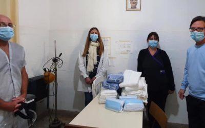 Salud nuevamente presente en las localidades de Rawson y Castilla