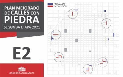 Segunda etapa del plan municipal de mejorado y empedrado de calles