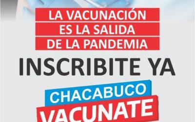 Chacabuco vacunate: prevención covid-19