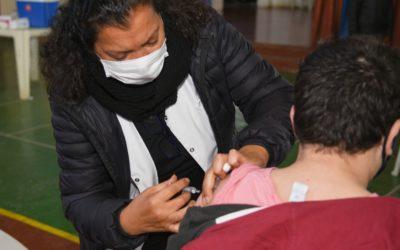 Continúa la campaña de vacunación antigripal