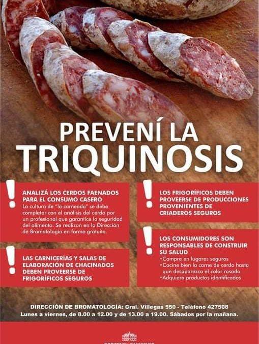 Controles para prevenir la triquinosis