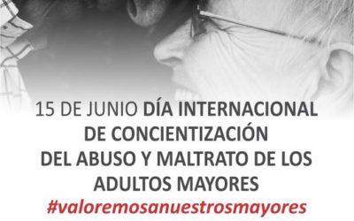 Día Internacional de Concientización del Abuso y el Maltrato de los Adultos Mayores
