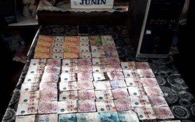 Diez imputados en allanamientos por juegos clandestinos
