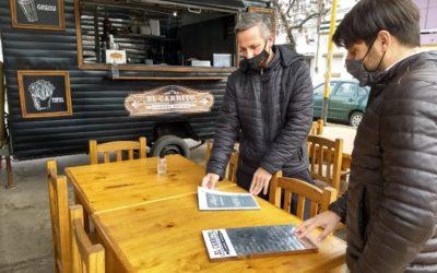 Área Municipal de Discapacidad y comercios gastronómicos por la inclusión