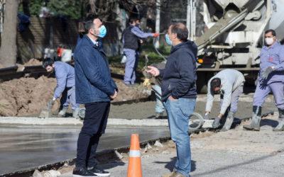 Chacabuco en obras: continúa el Plan Municipal de Bacheo Urbano