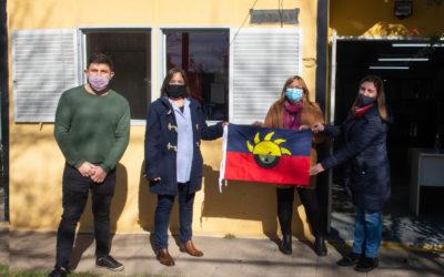 El Jardín 906 recibió la bandera de Chacabuco