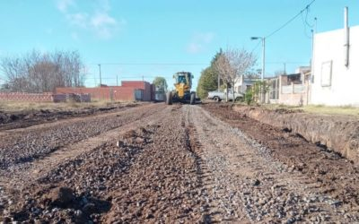 Culminó la segunda etapa del plan municipal de mejorado y empedrado de calles