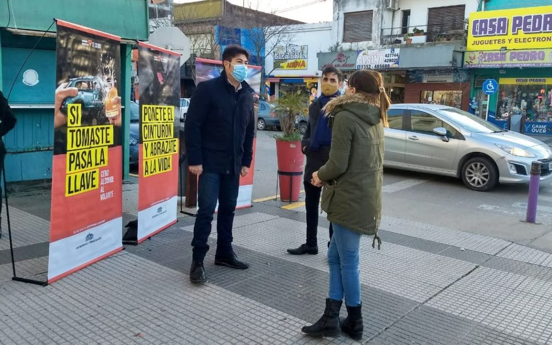 Campaña municipal de concientización sobre la Seguridad Vial