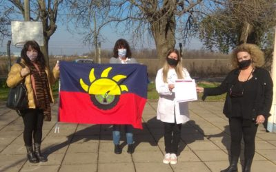 La bandera de Chacabuco llegó a todas las escuelas rurales