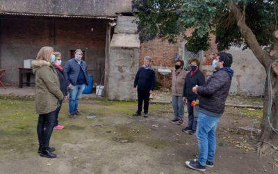 Visita a instituciones de Castilla