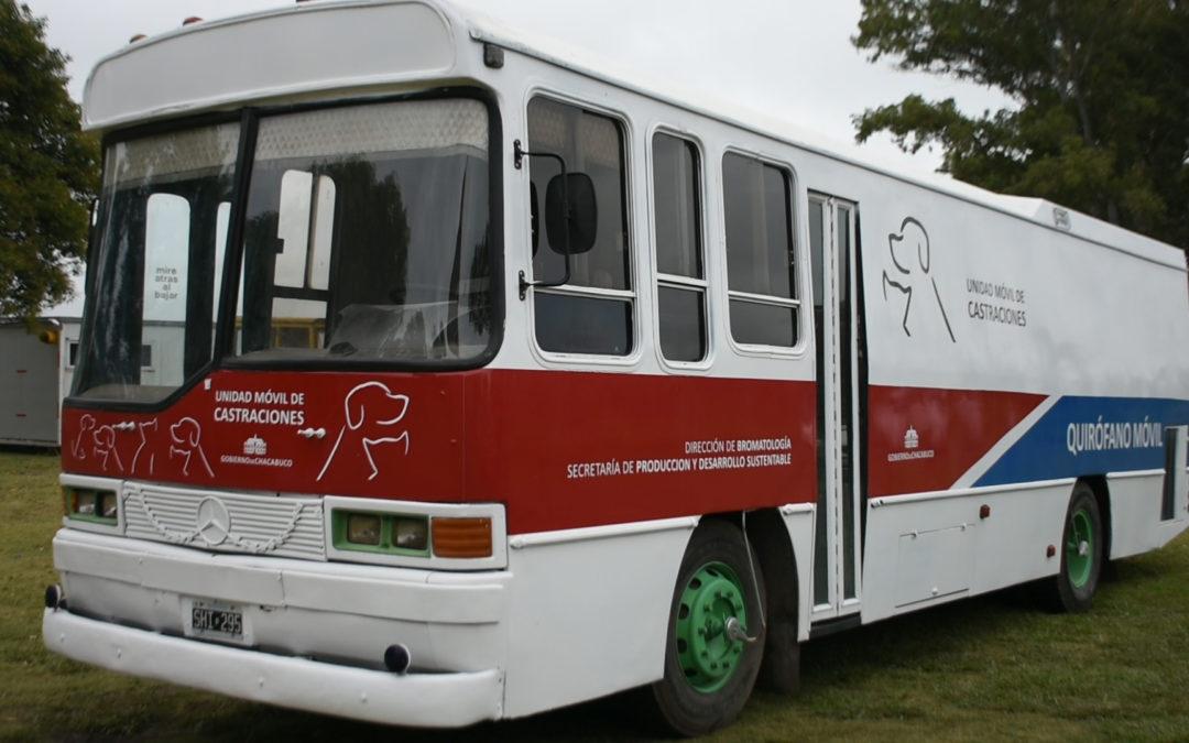 Bromatología: continúa el recorrido de la unidad móvil de castraciones gratuitas