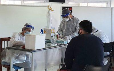 Rawson: Testeos rápidos y pintura para el Hospital