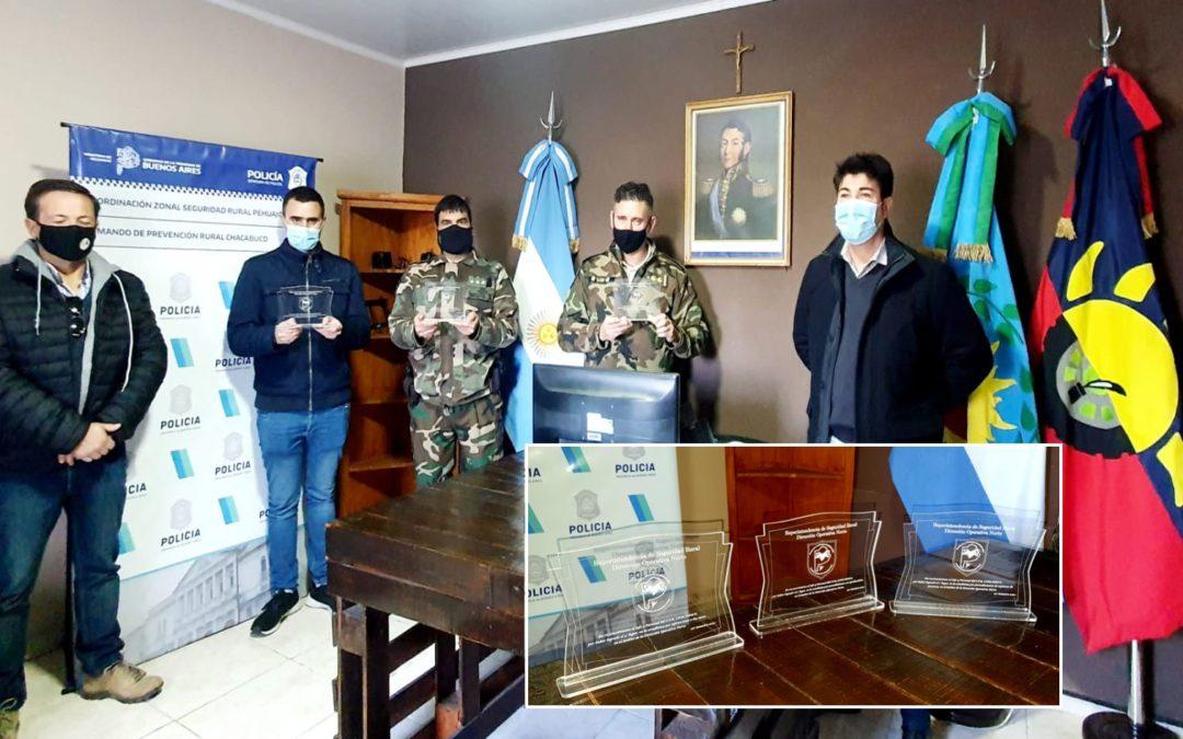 Reconocimiento para el Comando de Prevención Rural de Chacabuco