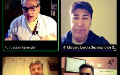 Encuentro virtual por la Educación y Seguridad Vial