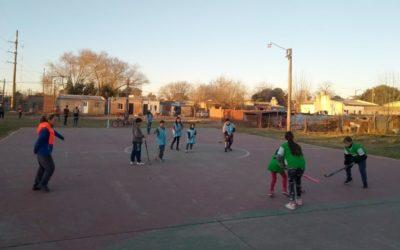Deportes: volvieron los talleres presenciales a los barrios