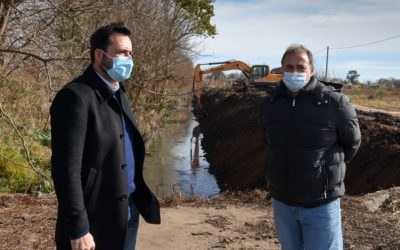 Continúa el plan integral de limpieza de obras hidráulicas: mantenimiento del canal Solís
