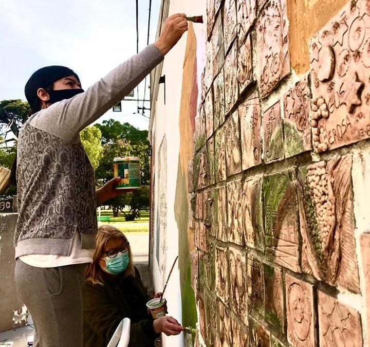 Cultura: murales que embellecen la ciudad