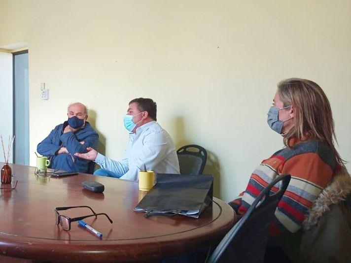 Obras y Servicios Públicos: proyectos junto a la Cooperativa de Teléfono e Internet de O'Higgins