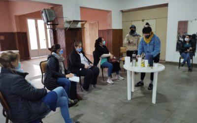 El Área de la Mujer y el trabajo en conjunto con las localidades