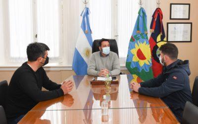 El Intendente recibió al nuevo Director de la Banda Municipal