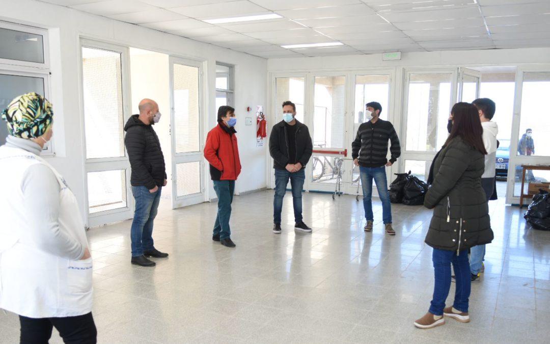 Plan de Gestión Integral de Residuos: Aiola visitó la compostera ubicada en la Escuela Secundaria N°7 y Escuela Primaria N°17