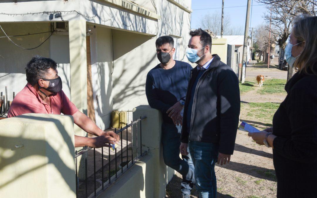 El Intendente Municipal visitó O'Higgins