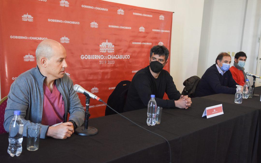 Se presentó el proyecto de refacción y adecuación de los quirófanos del Hospital Municipal