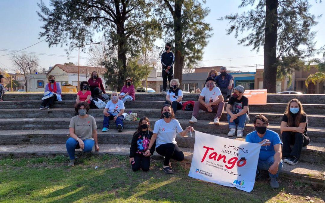 Volvió el programa municipal Aire de Tango
