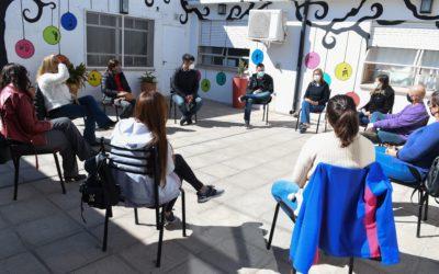 El Intendente Municipal se reunió con Cáritas