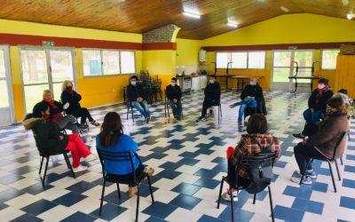 Desarrollo Social junto a los vecinos de San Antonio y Los Pioneros