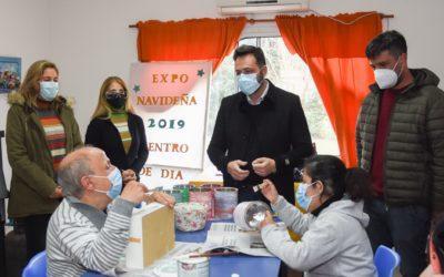 Día de la Educación Especial: Aiola visitó el Centro de Día Integrarte