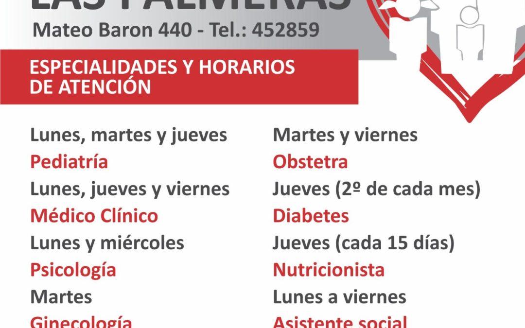 Centros de Atención Primaria de la Salud