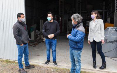 El Intendente Municipal recorrió el Parque Industrial